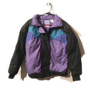 Vintage Windbreaker Bomber Jacket